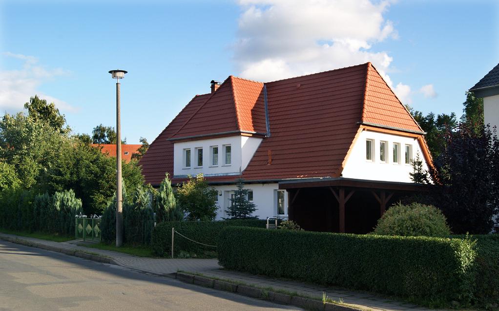 Das ehemalige Gutsverwalterhaus des ehemaligen Universitätsgutes