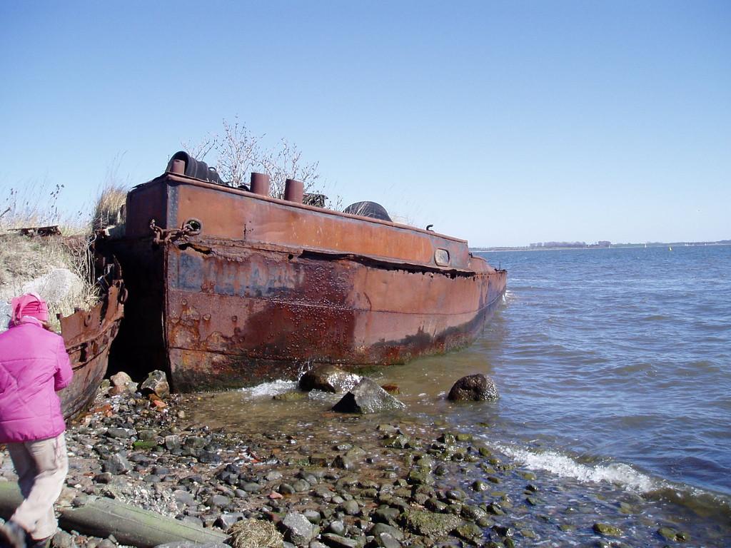 Altes Schiffswrack...