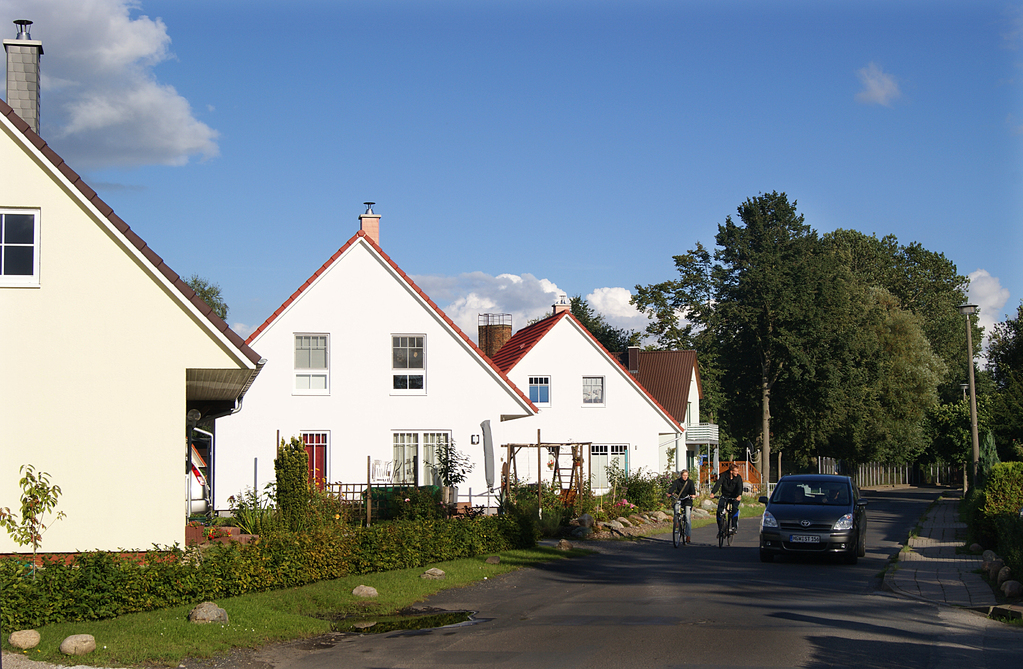 """Neue Eigenheime an der """"Moorweide"""""""