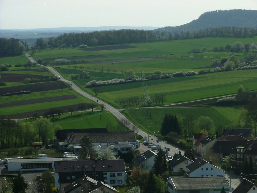 Straße nach Horrheim