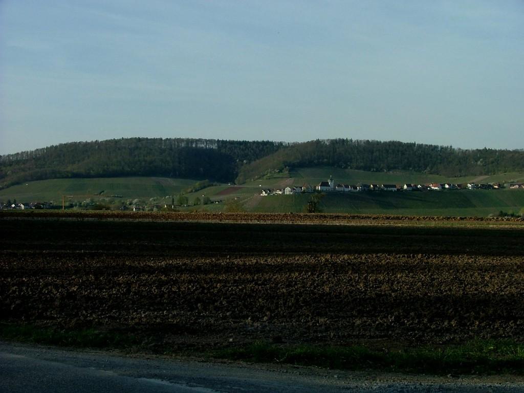 Blick auf Hohenhaslach
