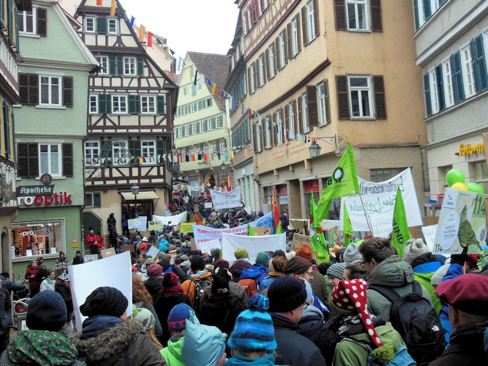 In der Altstadt wird es eng, Foto F. Handel