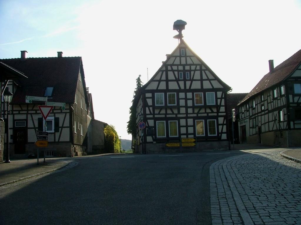 Ortsmitte in Ochsenbach