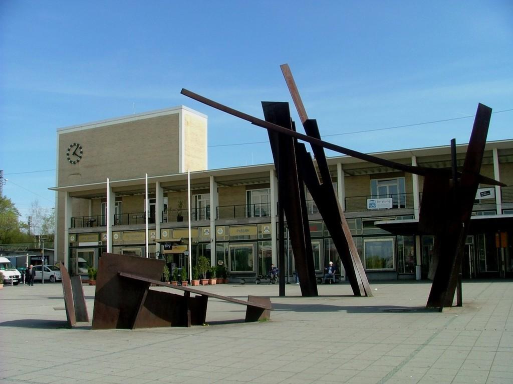 Start ist beim Bahnhof in Bietigheim-Bissingen