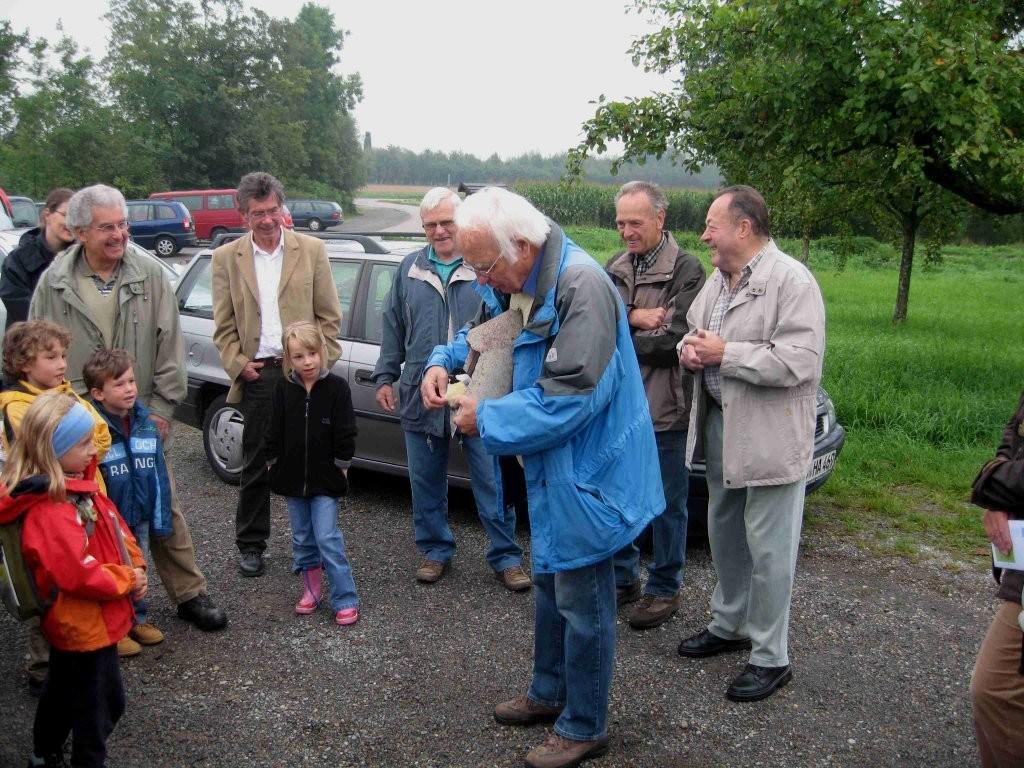 Nistkastenreinigung im Ferienprogramm 2010