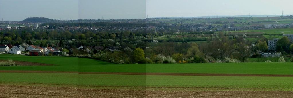 Panoramaausblick auf Bietigheim-Bissingen