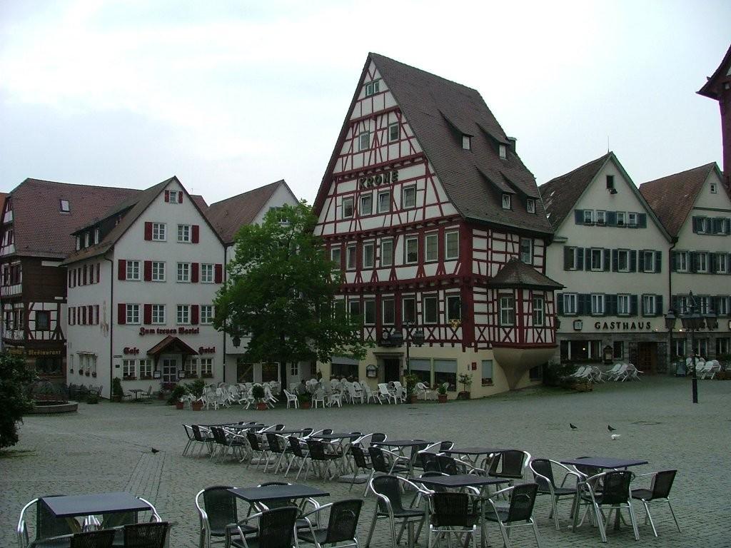 Marktplatz von Markgröningen