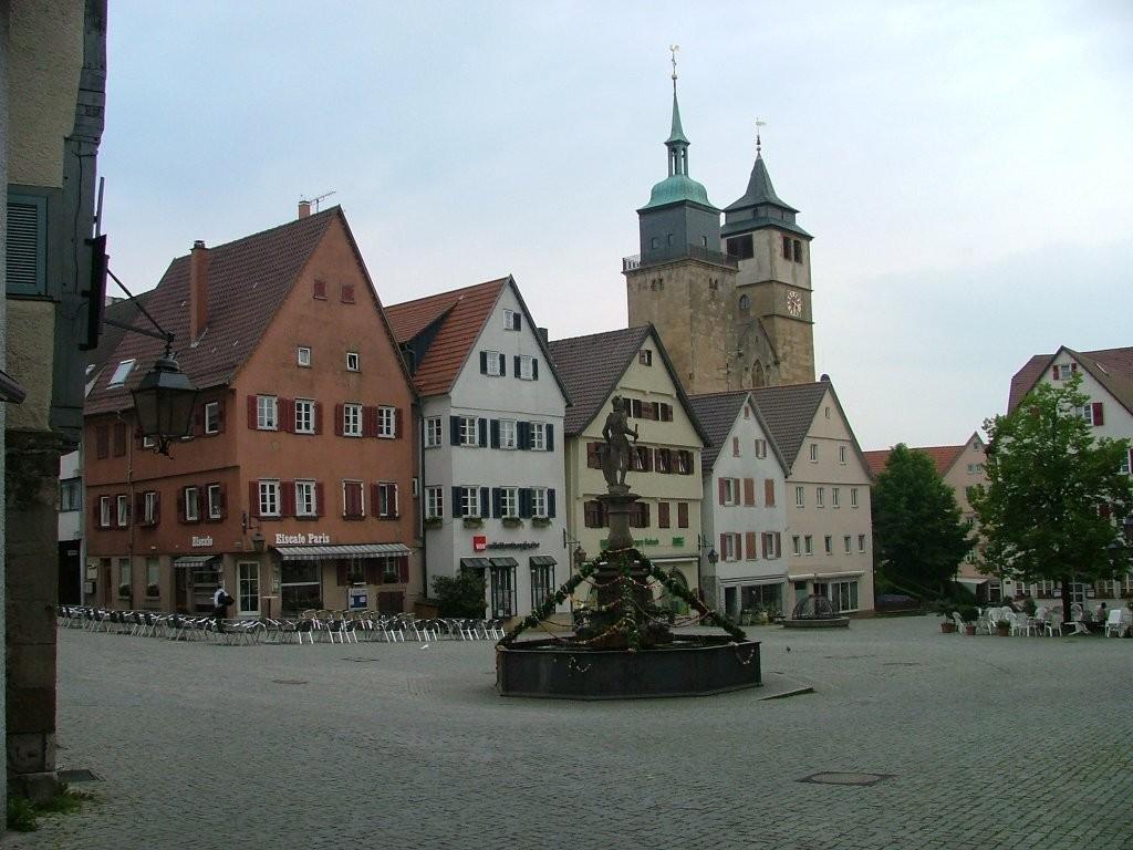 Und nochmal der Marktplatz.