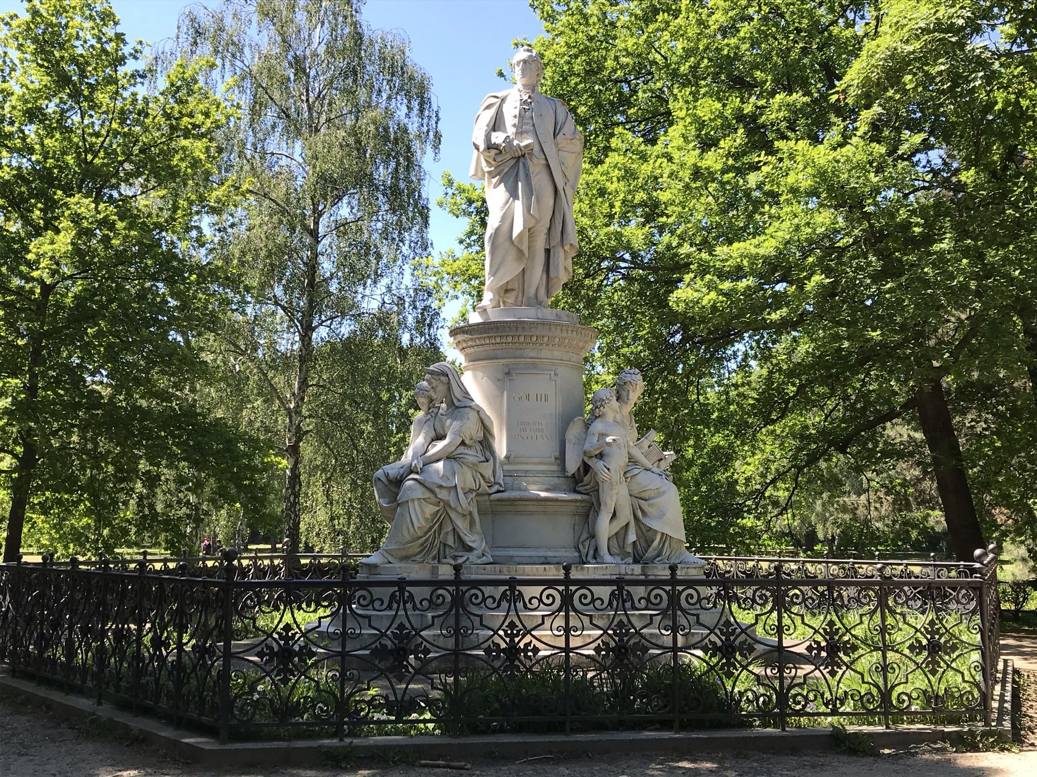 Goethedenkmal im Berliner Tiergarten