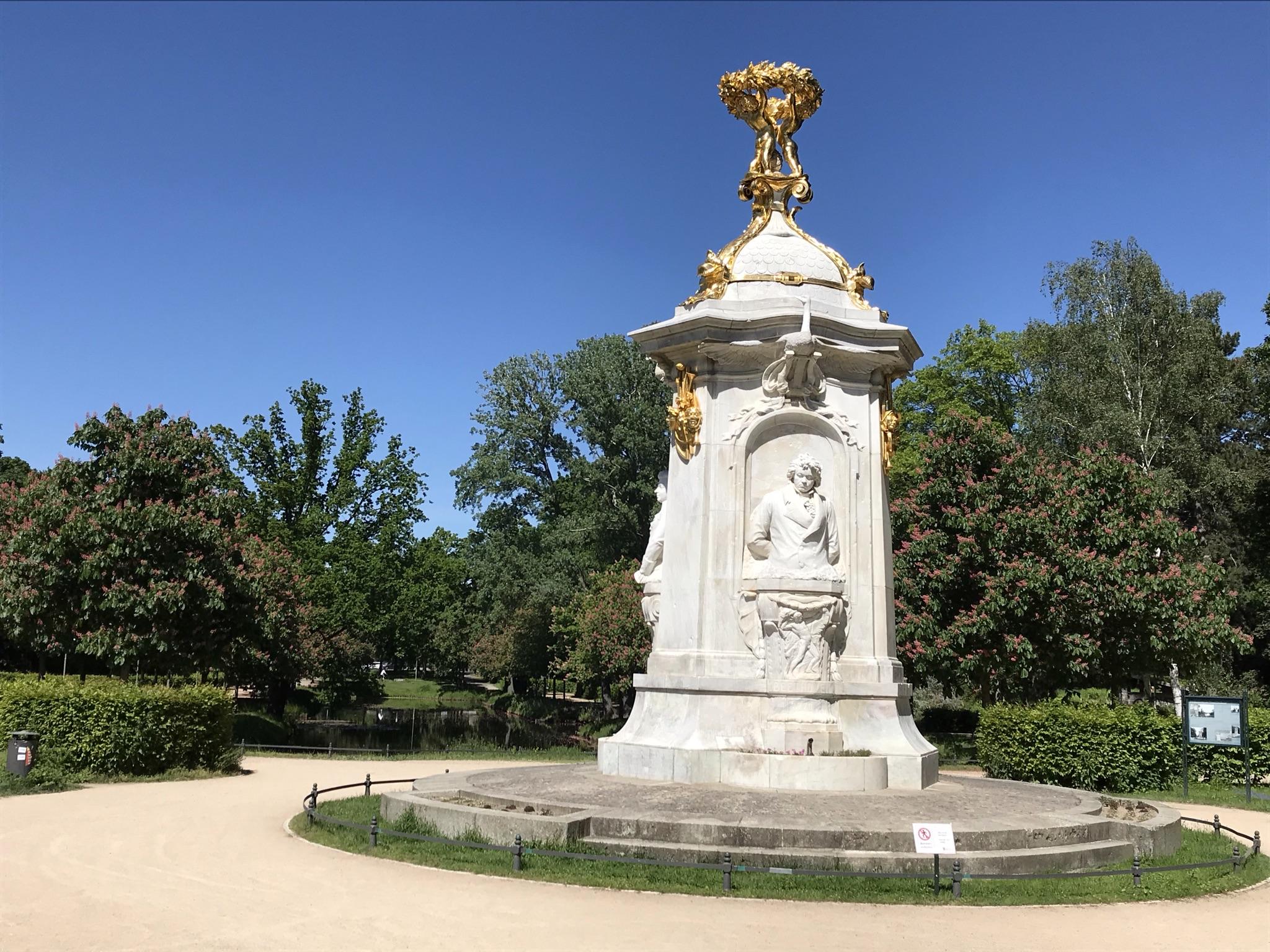Heyden-Mozart-Bethooven-Denkmal im Berliner Tiergarten