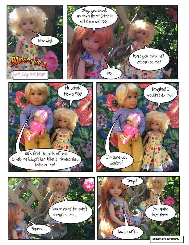 hiyadolly.com stories, Dianna Effner Little Darlings, Kidz n Cats Jakob, Berenguer baby
