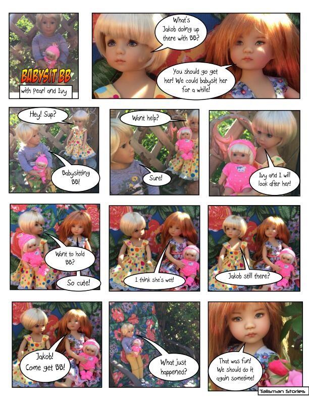 Doll Story, Dianna Effner, Little Darlings, Berengeur Baby, Kidz n Cats