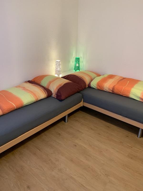 Kinderschlafzimmer, kann auch für Erwachsene genutzt werden.