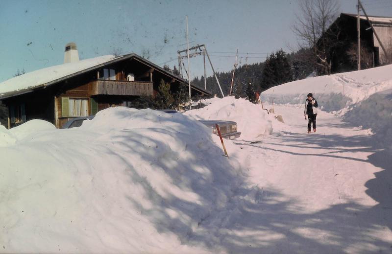Chalet beim Skilift