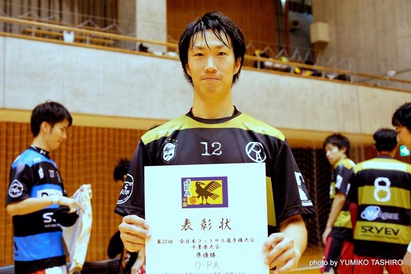 O-PA 12番・林賢治選手