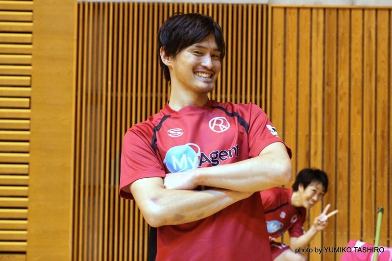 O-PAキャプテン 17番・吉澤靖友選手