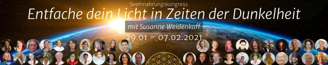 Norma Rán Bendt beim 3. Seelennahrungs-Kongress von Susanne Weidenkaff