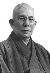 心身統一法の創見者であり、現在の天風会の創始者、中村天風氏の写真