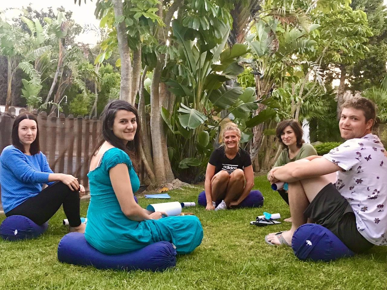 Yoga mit Meditation Conil