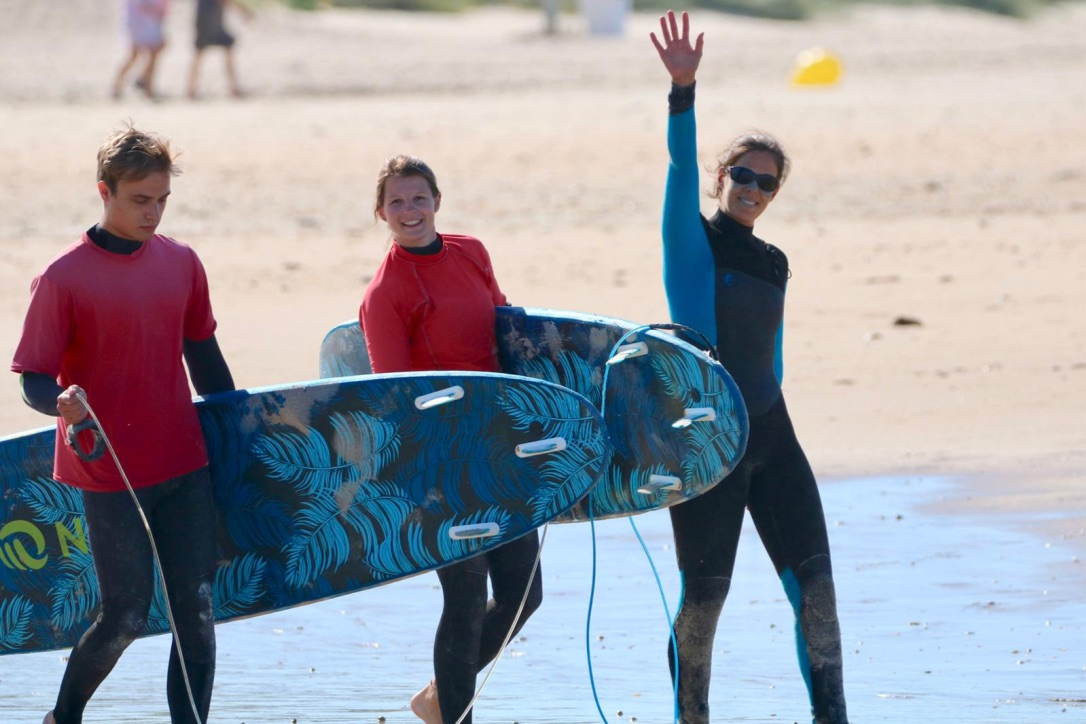 Winter Surfcamp Andalusien