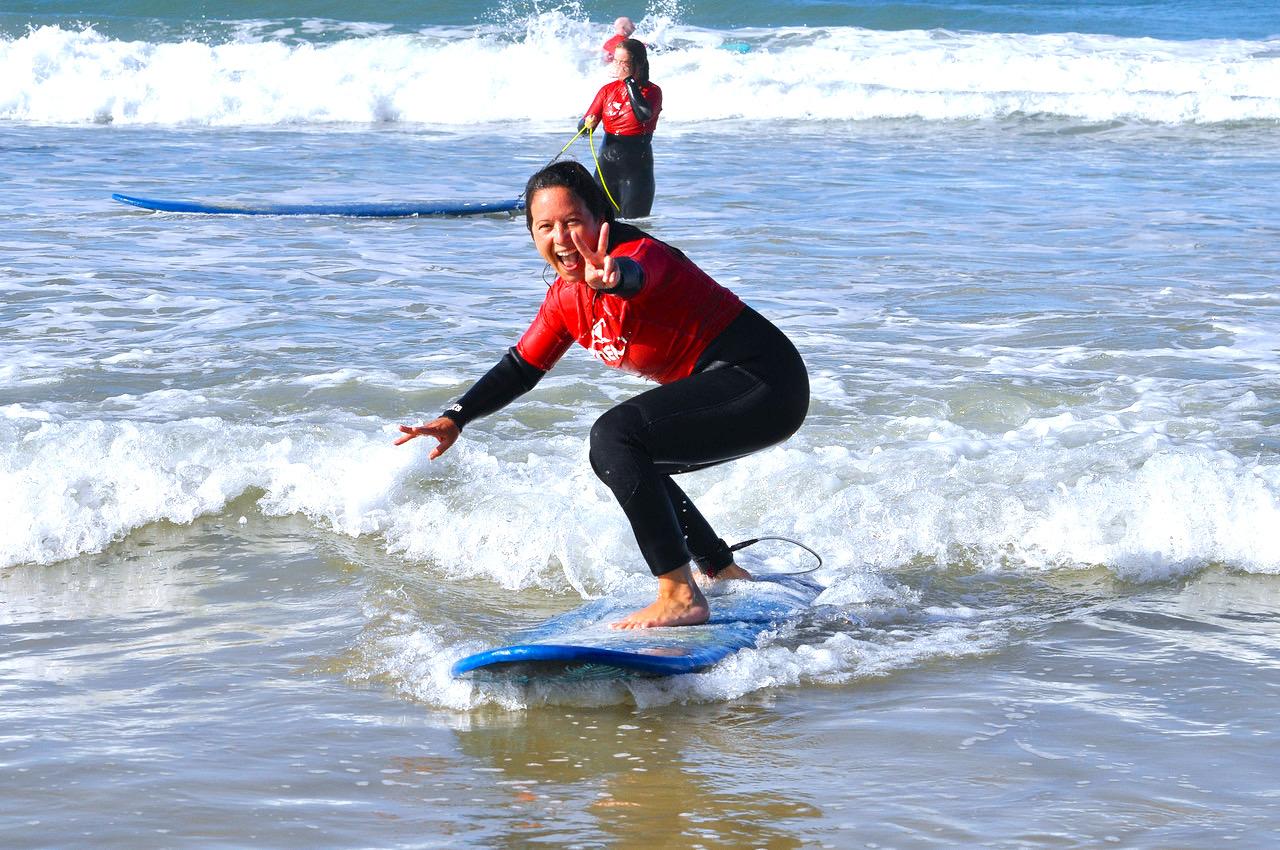 Surfen und Yoga Andalusien