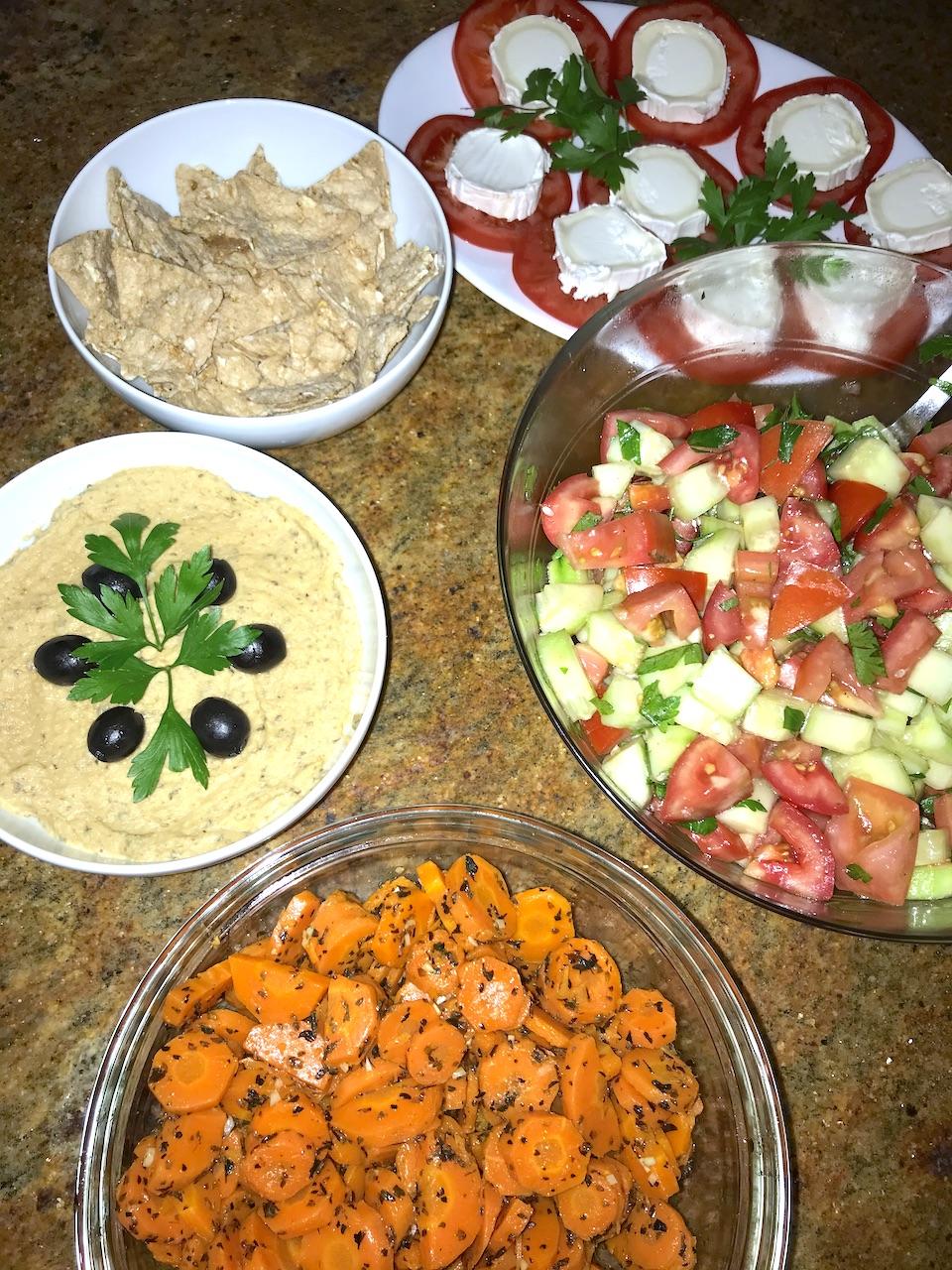 vegetarische Verpflegung
