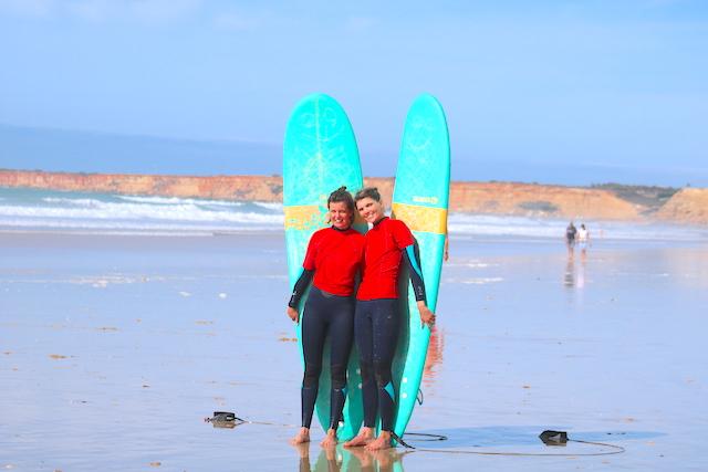 aprender surf el palmar