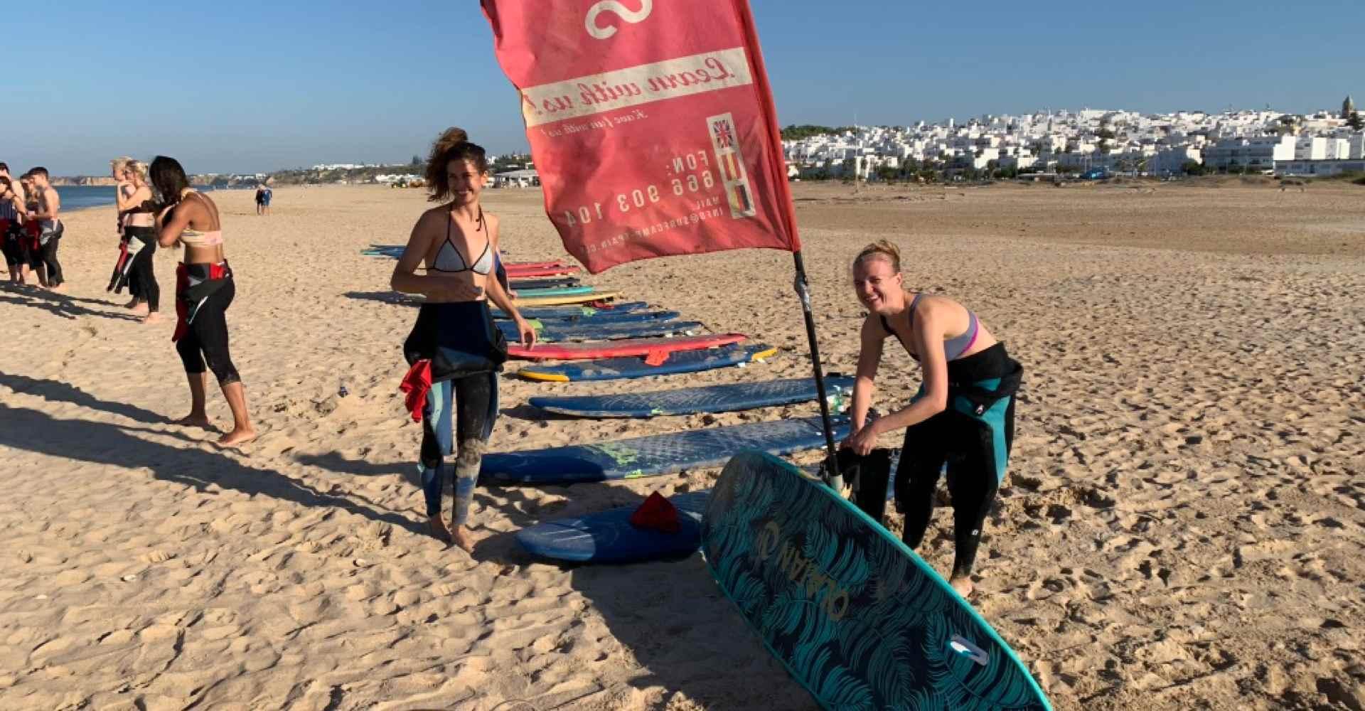 fin de semana con surf