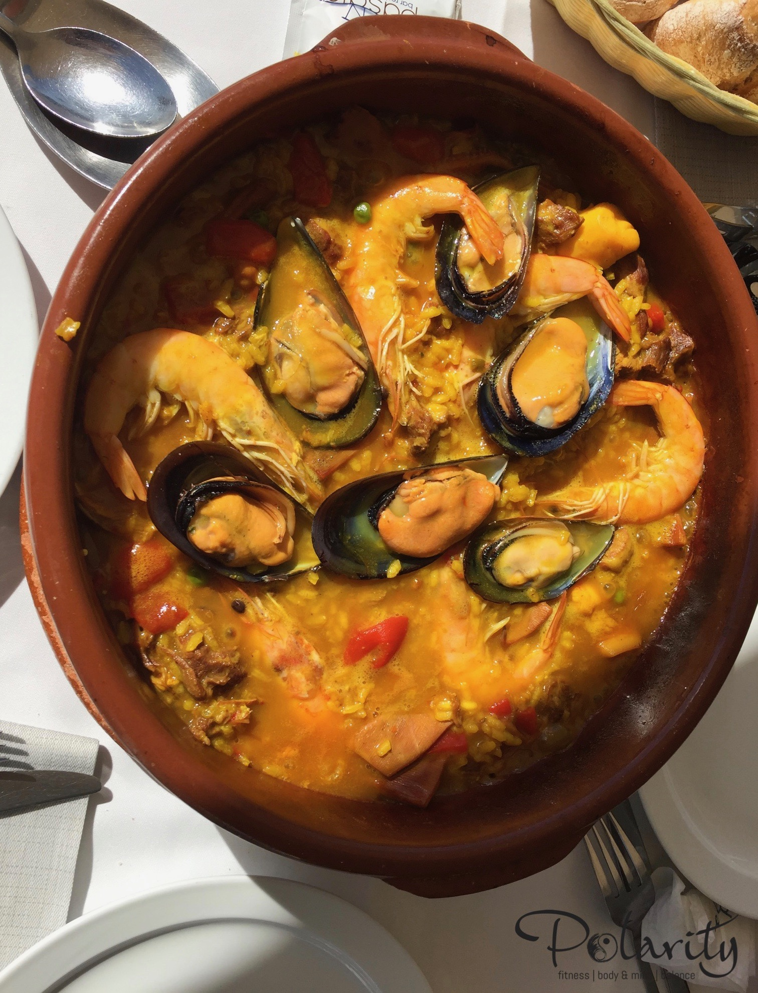 Fitnesscamp, Paella in Conil