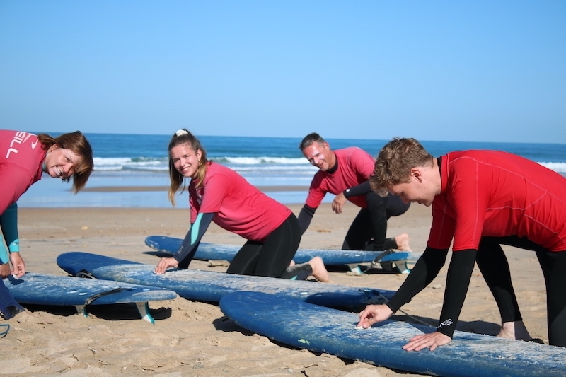 Surf lessons Conil