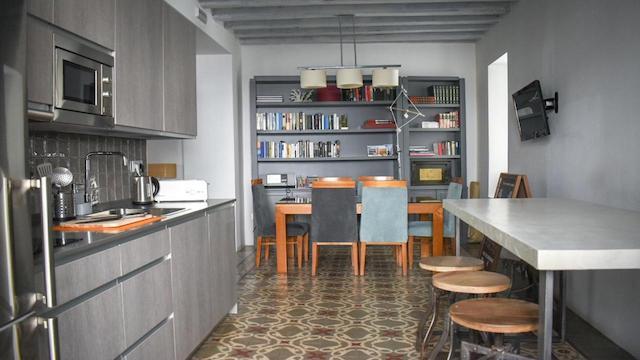 hostel con cocina