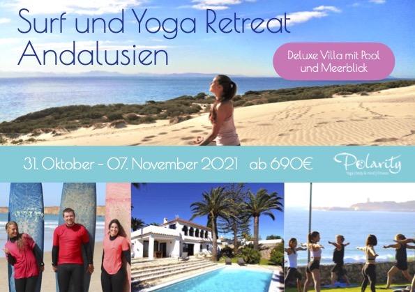 Yoga und Surf Retreat Andalusien 2021