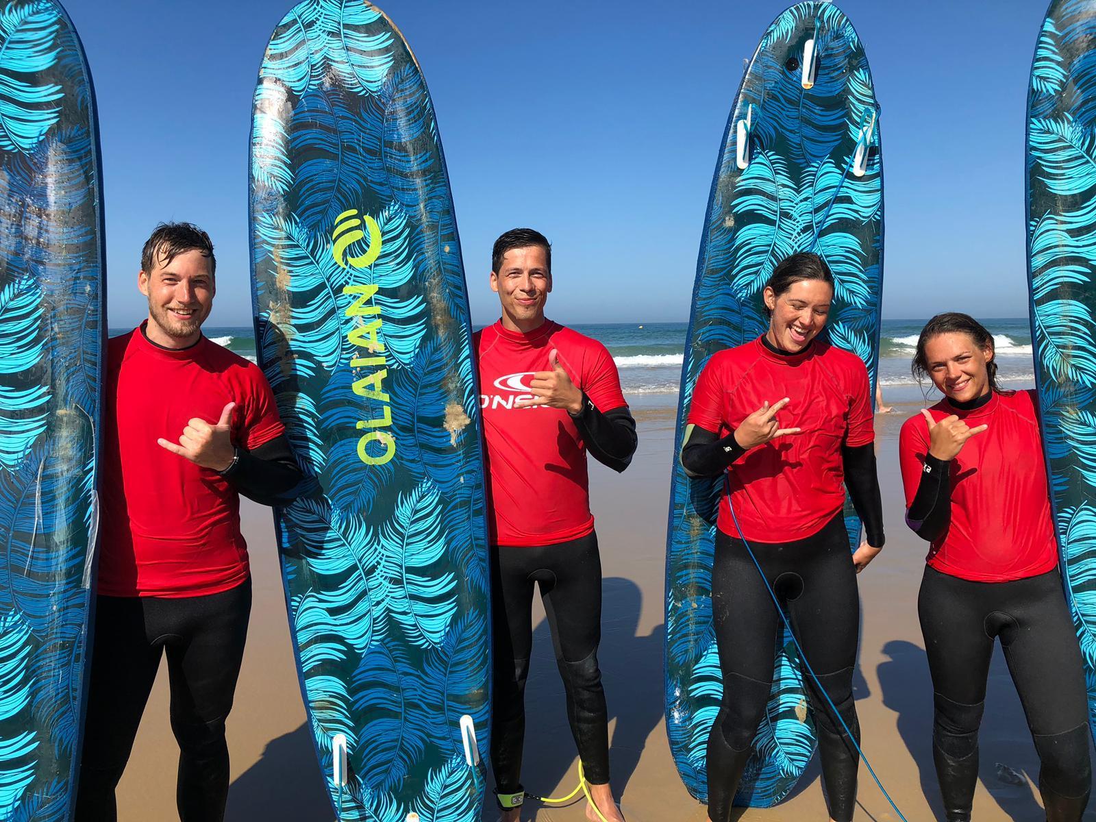 Surfen an Weihnachten