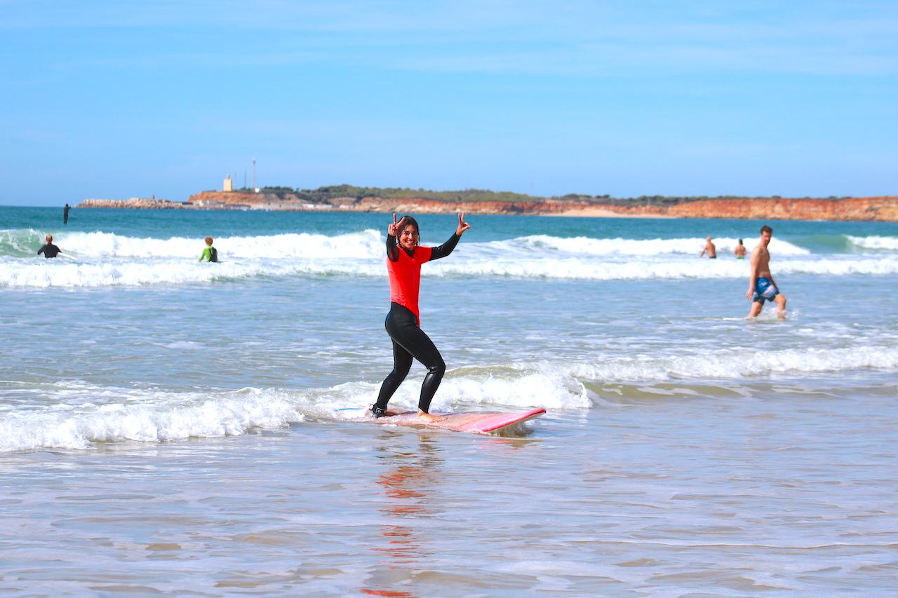 Surfen und Yoga