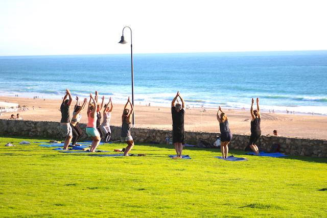 yoga classes Conil, el Palmar