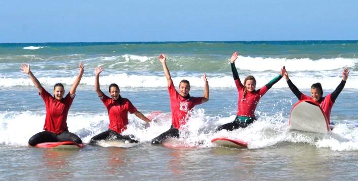 Surfen Neujahr