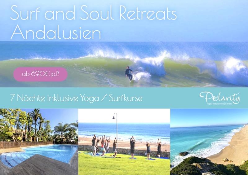 Yoga und Fitness Urlaub 2021 Andalusien