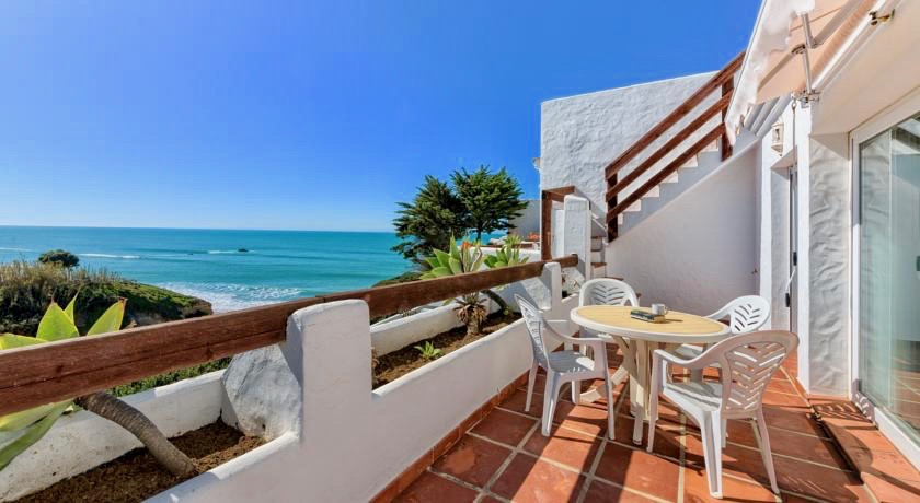 Yoga mit Meerblick Apartment Andalusien