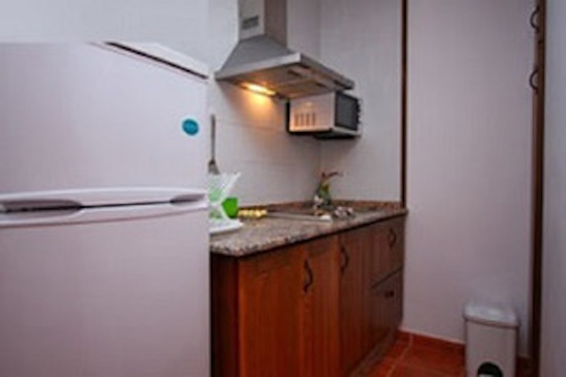 Apartment mit Küche