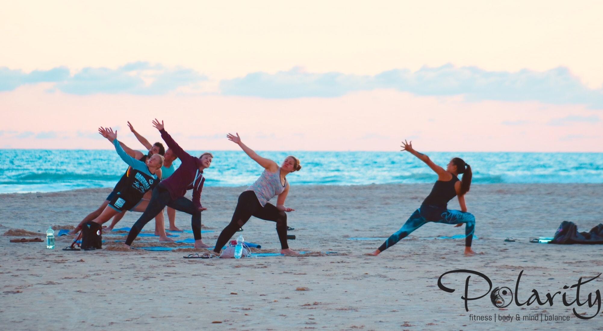 Yoga und bodyART am Strand, Conil