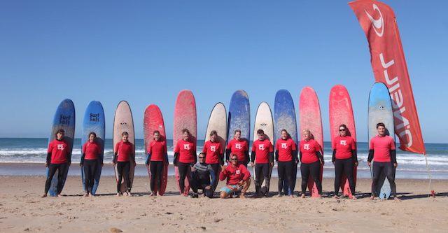 clases de surf el palmar