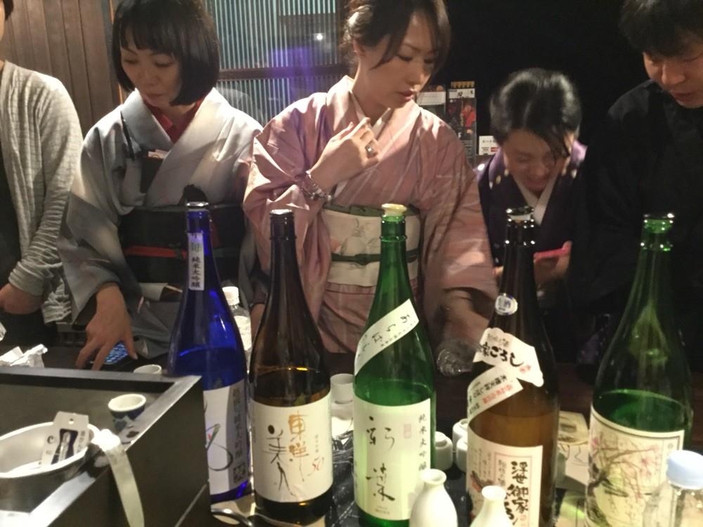 日本酒ガールの酒の会 in 四条烏丸・忍者道場