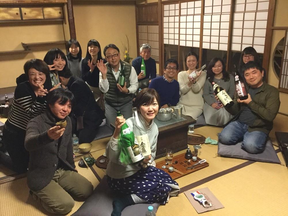 日本酒ガールと燗酒を楽しむ会 in 井筒安旅館