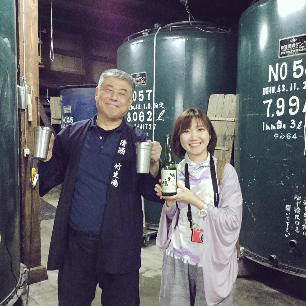 NHKカルチャー「関西・ほろ酔い蔵さんぽ」講座/滋賀「竹生嶋」醸造元
