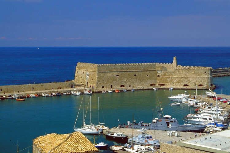 Venetian Fortress of Koules in Heraklion