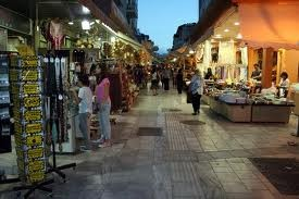 Open market in Heraklion town