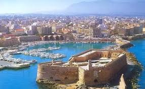 Heraklion town venetian port
