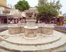 Venetian Fountain of  Mourozini in Heraklion town