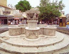 Venetian Fountain of  Mourozini in Heraklion town