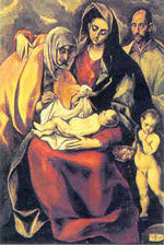 Painting of ''EL GRECO''